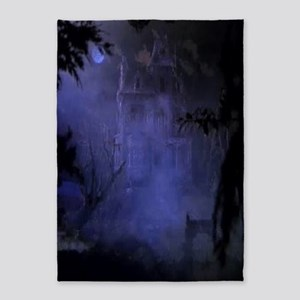 Haunted Hill House 5'x7'Area Rug