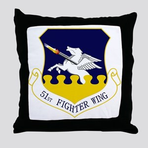 51st FW Throw Pillow