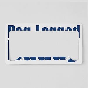 Peg-Legged Daddy License Plate Holder