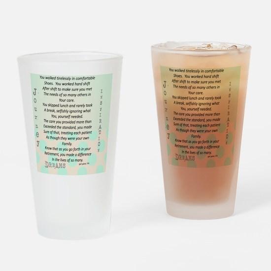 Retired Nurse Poem Drinking Glass