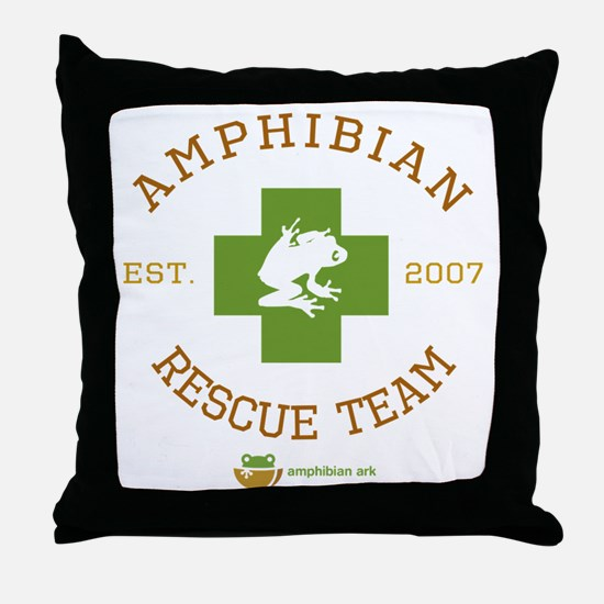 Amphibian Rescue Team Throw Pillow