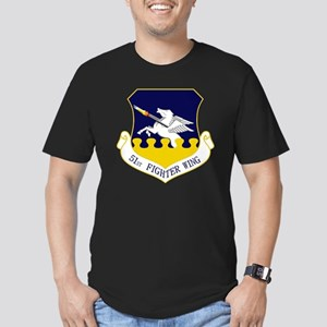 51st FW Men's Fitted T-Shirt (dark)