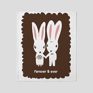 bunniesCP Throw Blanket