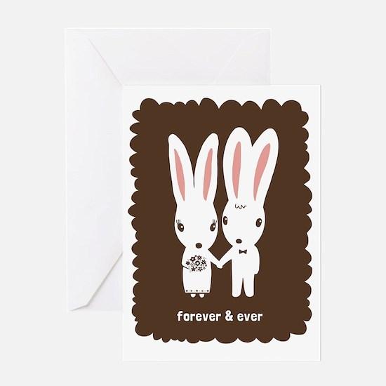 bunniesCP Greeting Card