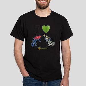 I heart poison dart frogs Dark T-Shirt