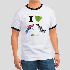 I heart poison dart frogs Ringer T