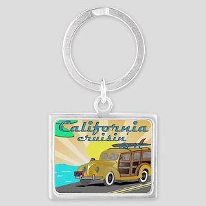 california dreamin Landscape Keychain