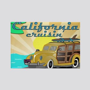 california dreamin Rectangle Magnet