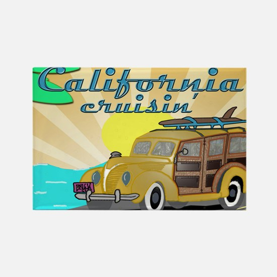 california dreamin Rectangle Magnet