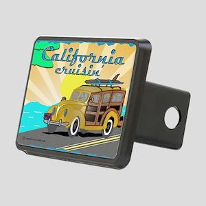 california dreamin Rectangular Hitch Cover