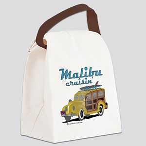 Malibu Cruisin Mug Canvas Lunch Bag
