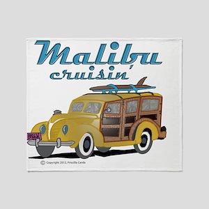 Malibu Cruisin Mug Throw Blanket