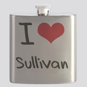 I Love Sullivan Flask