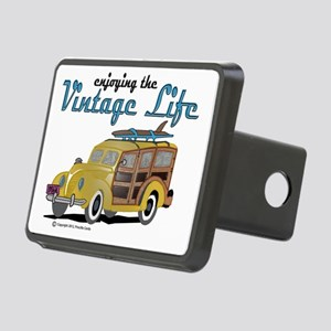 enjoying the vintage life Rectangular Hitch Cover