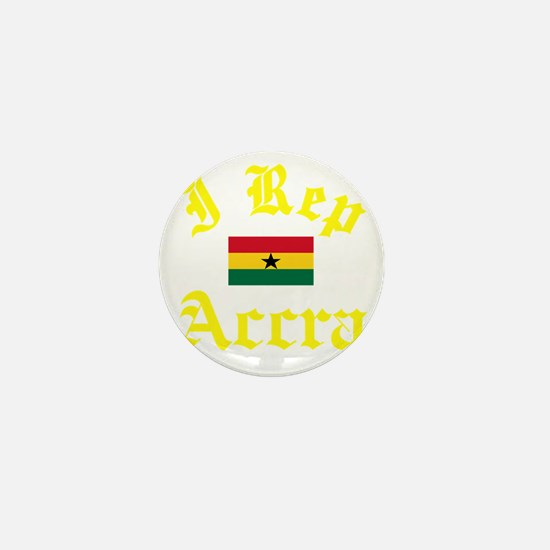 I Rep Accra capital Designs Mini Button
