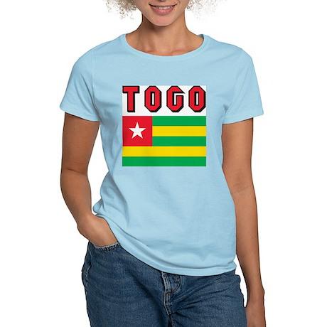 Togo Flag Women's Light T-Shirt