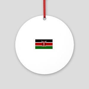 I Rep Nairobi capital Designs Round Ornament