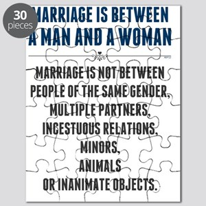 Marriage In America Puzzle