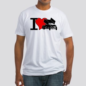 iHEARTsprints Fitted T-Shirt