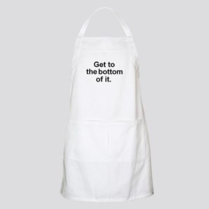 Get to the bottom of it. BBQ Apron