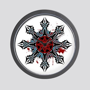 Cross of Chaos Wall Clock