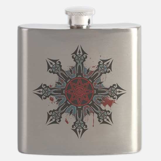Cross of Chaos Flask