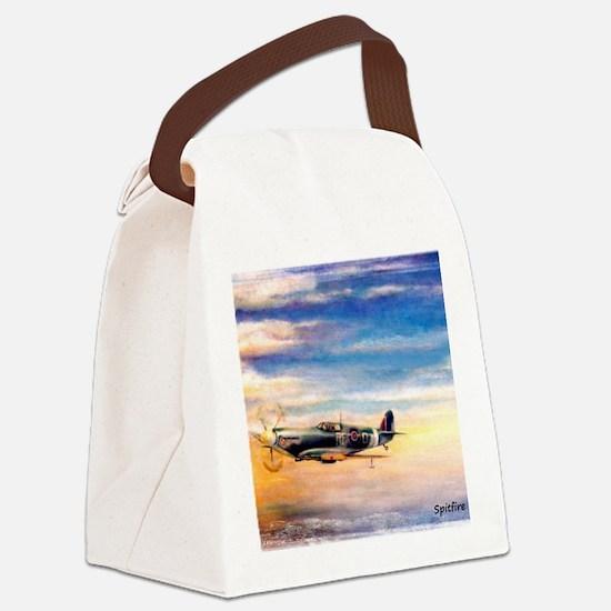SPITFIRE ART Canvas Lunch Bag