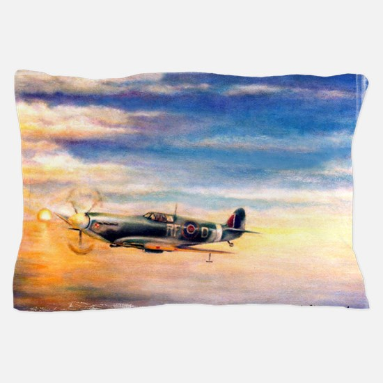 SPITFIRE ART Pillow Case