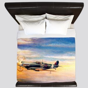 SPITFIRE ART King Duvet