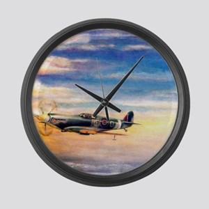 SPITFIRE ART Large Wall Clock
