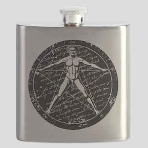 Agrippa Pentagram (black) No.1 Flask