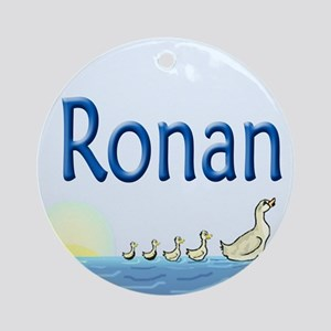 Ducklings Ronan Ornament (Round)