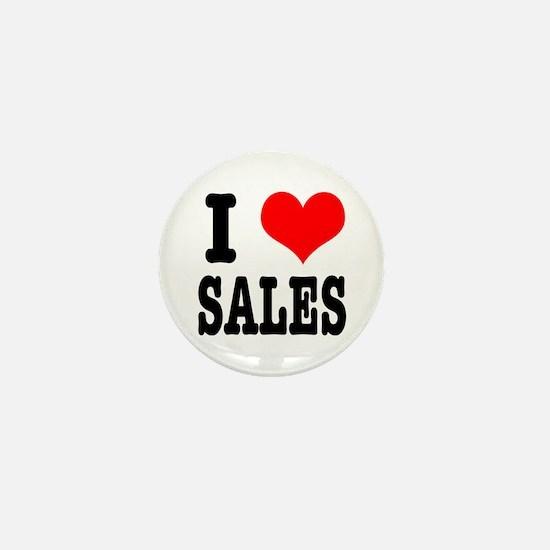I Heart (Love) Sales Mini Button