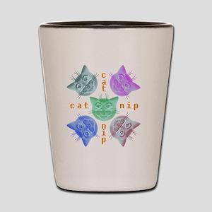 Kitties hours Shot Glass