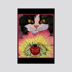 KITTY & LADYBUG Rectangle Magnet