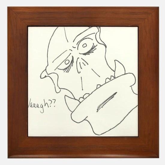 Waagh? Framed Tile