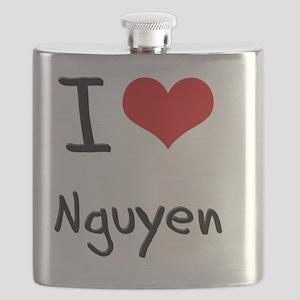 I Love Nguyen Flask