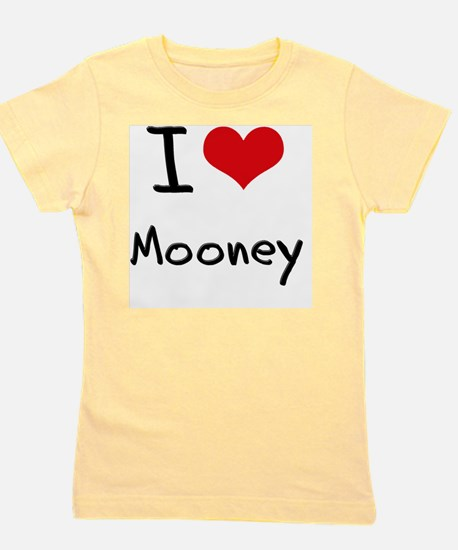 I Love Mooney Girl's Tee