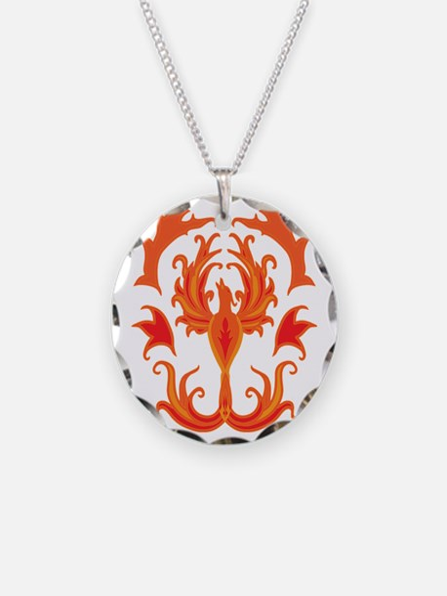Phoenix Firebird Necklace