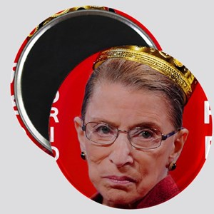 Notorious RBG Small Square Magnet