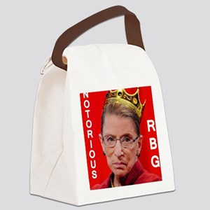 Notorious RBG Small Square Canvas Lunch Bag