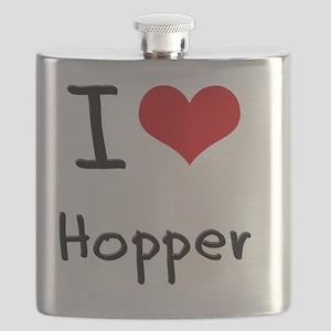 I Love Hopper Flask