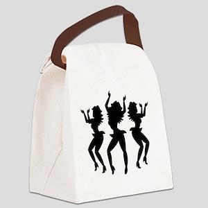Dancing Girls / Bailarinas Canvas Lunch Bag