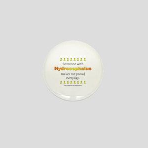 Hydrocephalus Pride Mini Button