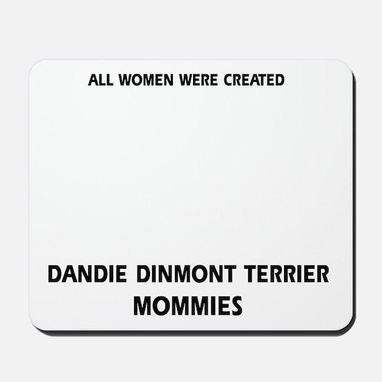 Dandie Dinmont Terrier Mommies Designs Mousepad