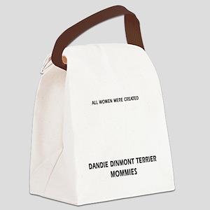 Dandie Dinmont Terrier Mommies De Canvas Lunch Bag