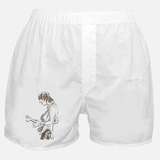 Base Guitarist. Boxer Shorts
