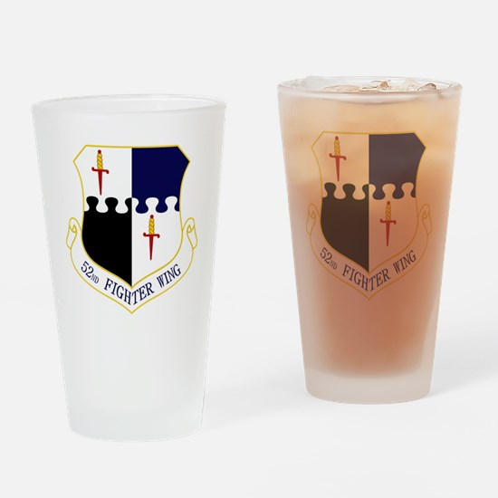 52nd FW Drinking Glass