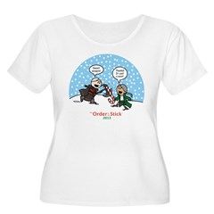 OOTS Holiday 2013 Women's Plus Size T-Shirt