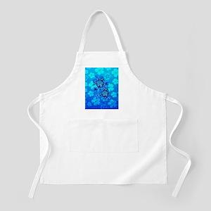 Blue Honu Hibiscus Apron